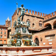 Italy bologna the fountain of Neptune — Stock Photo