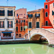 The architecture of the old Venice - Stock Photo