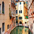 The architecture of the old Venice — ストック写真