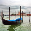 Boat in Venice — Stock Photo