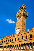 Palazzo Vecchio in Florence Italy — Stock Photo