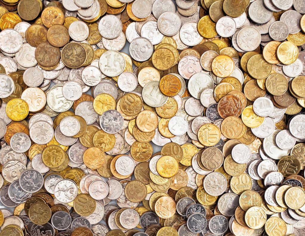Coins background — Stock Photo © deltaoff #6296125