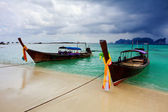 Boats in the tropical sea. Thailand — Stok fotoğraf