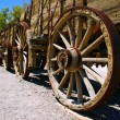 Old wagon in the Death Valley. — Stock Photo