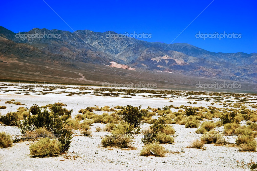 Lifeless landscape of the Death Valley. California. USA   Stock Photo #6434629
