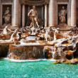 Trevi Fountain (Fontana di Trevi). Rome, Italy. — Stock Photo #6458060