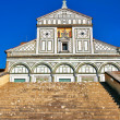 San Miniato al Monte in Florence - Stock Photo