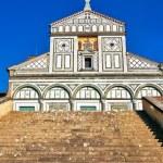 San Miniato al Monte in Florence — Stock Photo