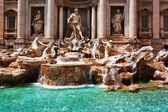 Trevi Fountain (Fontana di Trevi). Rome, Italy. — Stock Photo
