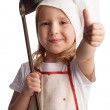 Little cook — Stock Photo #5986885