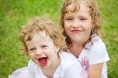 Happy sisters — Stock Photo
