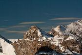 Schilthorn dağdan göster — Stok fotoğraf
