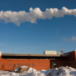 Stock Photo: Smokestack Pollution