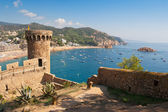Tossa de Mar. Costa Brava, Spain — Stock Photo