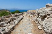 Ruins of Gournia, Crete, Greece — Stock Photo