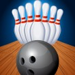 Bowling — Stock Vector #6406764