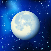 The Moon — Stock Vector