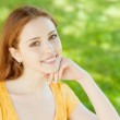 Beautiful girl in the park — Stock Photo #5380281