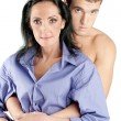 Young beautiful couple - Stockfoto