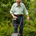 portrét starší muž — Stock fotografie