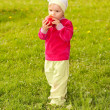 Little girl in park — Stock Photo #5765714