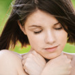 Portrait of young beautiful calm woman — Stock Photo #6068589
