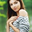 Portrait of young charming lady — Stock Photo #6279674