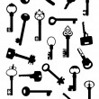 Royalty-Free Stock Vector Image: Collection of ancient keys