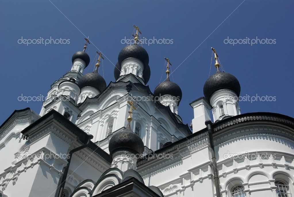 Orthodox cathedral in Zelenogorsk, Saint-Petersburg, Russia — Foto Stock #5598588