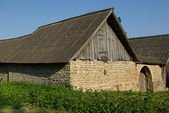 Old brick house — Stock Photo