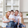 Family at moving - 