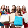 Shopping Women — Stock Photo #5643052