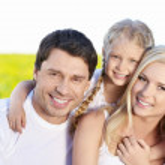 happyfamily — Stockfoto