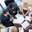 Business people in the office — Stock Photo #6371702