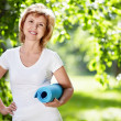 Sports woman - Stock Photo