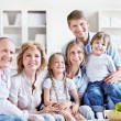 Family at home — Stock Photo #6671815