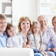 Stock Photo: Family with children
