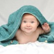 Smiling Baby after Bath — Stock Photo #6021130