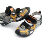 Summer Children Shoes — Stock Photo