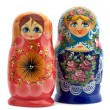 Matrioshka close up — Foto Stock