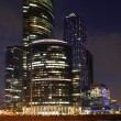 City skyscrapers in Moscow — Stock Photo