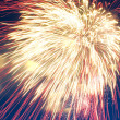Stock Photo: Firework close up
