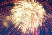 Firework close up — Stock Photo