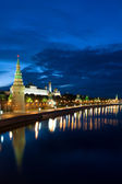 Russia Kremlin and Moscow river — Stock Photo