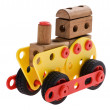 Toy locomotive — Stock Photo