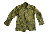 Camouflage jacket — Stock Photo