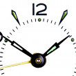Stock Photo: Clock macro