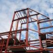Royalty-Free Stock Photo: Steel frame of business building