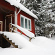 Stock Photo: Small country house in Finland