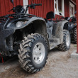 Two ATVs outdoor — Stock Photo #6162789